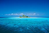 Einsame tropische Insel, Malediven, Indischer Ozean, Asien