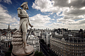 Nelsons Column, Trafalgar Square, London, England, United Kingdom, Europe