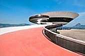 Niemeyer Museum of Contemporary Arts, Niteroi, Rio de Janeiro, Brazil, South America