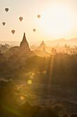 Tempel von Bagan (Pagan), Myanmar (Burma), Asien