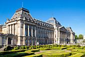 Palais Royale (Brussels Royal Palace), Place des Palais, Rue Brederode, Brussels, Belgium, Europe