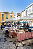 Flohmarkt, Aveiro, 'Venedig Portugals', Beira Littoral, Portugal, Europa
