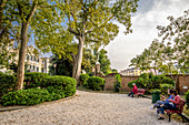 Giardini Papadopoli in Venice, Italy