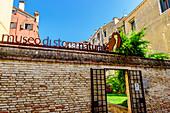Museo di Storia Naturale in the San Polo district, Venice, Italy