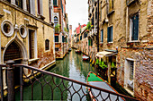 Canal in the San Polo district, Venice, Italy