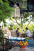 Mill cafe, popular place to watch the sunset, Zia, Dikeos Mountains, Kos Island, Dodecanese