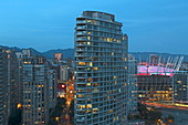 Downtown of Vancouver, British Columbia