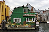 Altes Haus am Hafen, Vancouver, British Columbia, Kanada