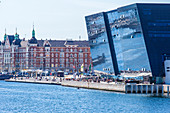 The Royal Library (Det Kongelige Bibliotek) in Copenhagen. It is the national library of Denmark, Copenhagen,  Zealand, Denmark