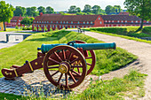 Kastellet (The Citadel), star-shaped 17th-century fortress, Copenhagen, Zealand, Denmark