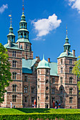 Rosenborg Castle, 17th century palace builded in a style of Dutch Renaissance, Copenhagen, Zealand, Denmark