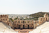 Odeon des Herodes Atticus Theater am Fu? of the Acropolis Rock, Athens Greece
