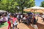 Franschoek Village Market, Franschoek, Cape Winelands, South Africa, Africa