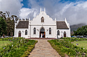 Wedding at Franschoek Church, Cape Winelands, South Africa, Africa