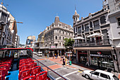 Long Street with sightseeing bus, Cape Town, South Africa, Africa