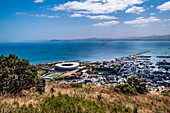 View from Signal Hill to Cape Town, South Africa, Africa