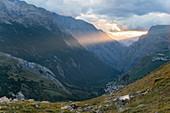 Rhones Alpes, Hautes-Alpes, Frankreich