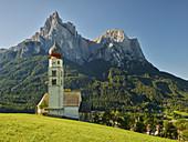 St. Valentin, Schlern, Kastelruth, Südtirol, Italien