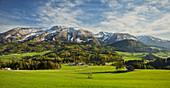Warscheneck, Totes Gebirge, Vorderstoder, Northern Limestone Alps, Upper Austria, Austria