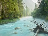 Fluss Triglavska Bistrica, Triglav Nationalpark, Slowenien, Europa
