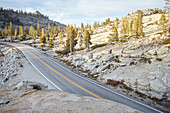 Olmsted Point, Tioga Road - Yosemite National Park, California, USA.