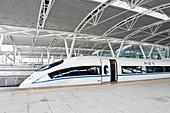 Guangzhou South Railway Station, TPF Farrells Architects, Guangdon Province, China