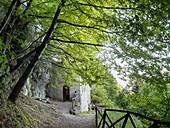 Eremo di Sant'Onofrio, Majella National Park, Abruzzo, Italy
