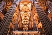 Nave of the Basilica de Santa Maria del Mar, Barcelona