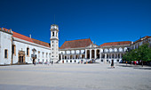 Coimbra University by day, Portugal