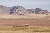 Khogno Khan Berg im Khogno Khan Nationalpark, Mongolei, Zentralasien, Asien