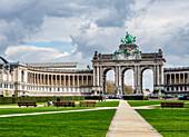 Arcade du Cinquantenaire, Cinquantenaire Park, Brussels, Belgium, Europe