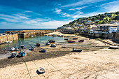 The picturesque fishing village of Mousehole, Cornwall, England, United Kingdom, Europe