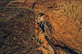 Lennard River Gorge in the Kimberley Region, Western Australia, Oceania,