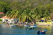 France, Guadeloupe (French West Indies), Les Saintes archipelago, Terre de Haut, the village