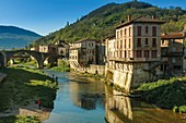 France, Aveyron, Saint-Affrique, Parc Naturel Regional des Grands Causses (Natural regional park of Grands Causses)