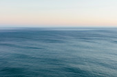 Ocean seascape, view to the horizon over the water surface.