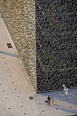 France, Bouches du Rhone, Marseille, Euromediterranee area, MuCEM, the Museum of Civilization in Europe and the Mediterranean and RR Ricciotti architects Carta
