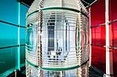 France, Gironde, Le Verdon sur Mer, Inside the Cordouan lantern, Historical Monument classified