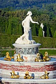 Frankreich, Yvelines, Versailles, Schlosspark von Versailles, UNESCO Weltkulturerbe, Brunnen der Latona