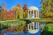 France, Yvelines, Versailles, palace of Versailles listed as World Heritage by UNESCO, Marie Antoinette's estate, gardens of the Petit Trianon, the temple of Love