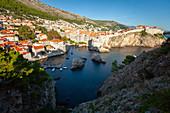 View of cityscape, Dubrovnik, Croatia