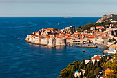 Harbour and old town, Dubrovnik, Croatia