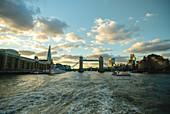 Tower Bridge over River Thames