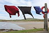Sandend fishing village, Murray Coast, Aberdeenshire