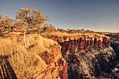 Canyon in Karijini National Park in Western Australia, Australia, Oceania;