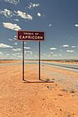 Shield of the Tropic of Tropics in Western Australia, Australia, Oceania;