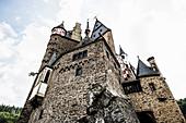 Eltz Castle, Münstermaifeld, Wierschem, Moselle, Rhineland-Palatinate, Germany
