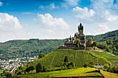 Reichsburg, Cochem on the Moselle, Moselle, Rhineland-Palatinate, Germany