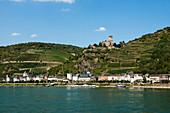 Gutenfels Castle, Kaub, Upper Middle Rhine Valley, Rhineland-Palatinate, Germany
