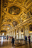 APOLLO GALLERY, THE LOUVRE, PARIS, FRANCE